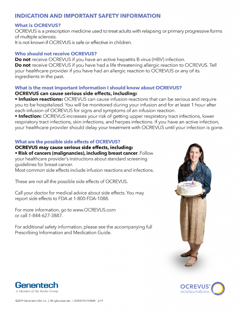 You're invited to an OCREVUS (ocrelizumab) educational event